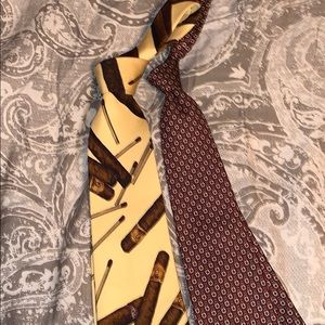 Polo by ralph lauren tie bundle 2 cigar and geo